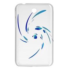 Blue Twist Samsung Galaxy Tab 3 (7 ) P3200 Hardshell Case  by Valentinaart