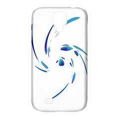 Blue Twist Samsung Galaxy S4 Classic Hardshell Case (pc+silicone) by Valentinaart