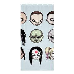 Worst Heroes Ever Shower Curtain 36  X 72  (stall)  by lvbart