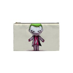 Suicide Clown Cosmetic Bag (small)  by lvbart