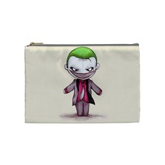 Suicide Clown Cosmetic Bag (medium)  by lvbart