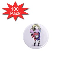 Suicide Harley 1  Mini Magnets (100 Pack)  by lvbart