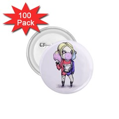 Suicide Harley 1 75  Buttons (100 Pack)  by lvbart