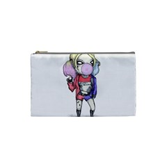 Suicide Harley Cosmetic Bag (small)  by lvbart