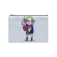 Suicide Harley Cosmetic Bag (medium)  by lvbart