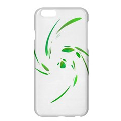 Green Twist Apple Iphone 6 Plus/6s Plus Hardshell Case by Valentinaart