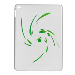 Green Twist Ipad Air 2 Hardshell Cases by Valentinaart