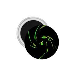 Green Twist 1 75  Magnets by Valentinaart