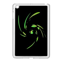 Green Twist Apple Ipad Mini Case (white) by Valentinaart