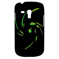 Green Twist Samsung Galaxy S3 Mini I8190 Hardshell Case by Valentinaart
