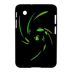 Green Twist Samsung Galaxy Tab 2 (7 ) P3100 Hardshell Case  by Valentinaart