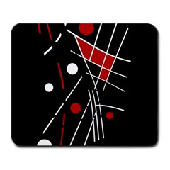 Artistic Abstraction Large Mousepads by Valentinaart