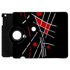 Artistic Abstraction Apple Ipad Mini Flip 360 Case by Valentinaart