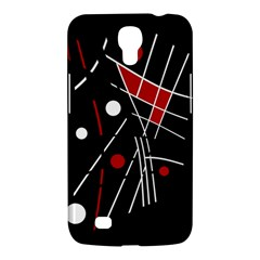 Artistic Abstraction Samsung Galaxy Mega 6 3  I9200 Hardshell Case by Valentinaart
