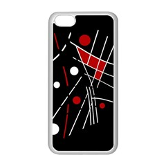 Artistic Abstraction Apple Iphone 5c Seamless Case (white) by Valentinaart