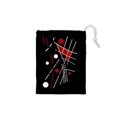 Artistic Abstraction Drawstring Pouches (xs)  by Valentinaart