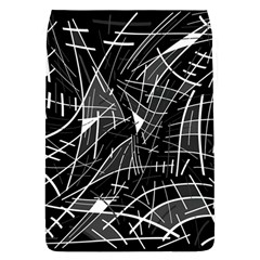 Gray Abstraction Flap Covers (l)  by Valentinaart