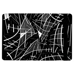 Gray Abstraction Ipad Air Flip by Valentinaart