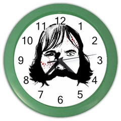 Bill The Butcher Color Wall Clocks by lvbart
