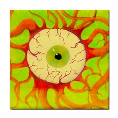 Scleral Hemorrhage Face Towel by circuitboardloincloth