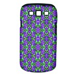 Pretty Purple Flowers Pattern Samsung Galaxy S III Classic Hardshell Case (PC+Silicone)