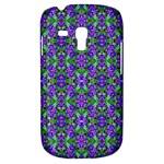 Pretty Purple Flowers Pattern Samsung Galaxy S3 MINI I8190 Hardshell Case