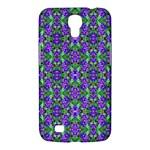 Pretty Purple Flowers Pattern Samsung Galaxy Mega 6.3  I9200 Hardshell Case