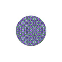 Pretty Purple Flowers Pattern Golf Ball Marker (10 Pack) by BrightVibesDesign