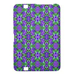 Pretty Purple Flowers Pattern Kindle Fire Hd 8 9  by BrightVibesDesign