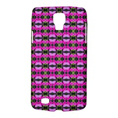 Pretty Pink Flower Pattern Galaxy S4 Active by BrightVibesDesign