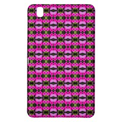 Pretty Pink Flower Pattern Samsung Galaxy Tab Pro 8 4 Hardshell Case by BrightVibesDesign