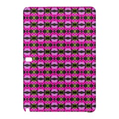 Pretty Pink Flower Pattern Samsung Galaxy Tab Pro 12 2 Hardshell Case by BrightVibesDesign