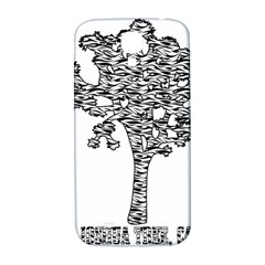 Joshua Tree Zebra Stripes Samsung Galaxy S4 I9500/i9505  Hardshell Back Case by WickedCool