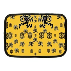 Disco Dancing In The  Tribal Nature  Netbook Case (medium)  by pepitasart