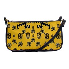 Disco Dancing In The  Tribal Nature  Shoulder Clutch Bags by pepitasart