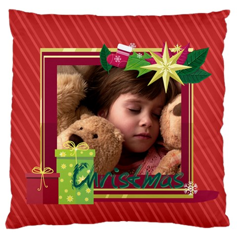 Xmas By 2016   Standard Flano Cushion Case (one Side)   4zt8p0yrmx4x   Www Artscow Com Front