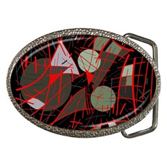 Artistic Abstraction Belt Buckles by Valentinaart