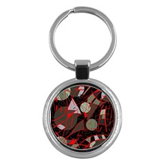 Artistic Abstraction Key Chains (round)  by Valentinaart