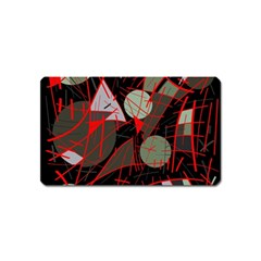 Artistic Abstraction Magnet (name Card) by Valentinaart