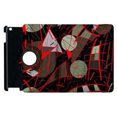Artistic Abstraction Apple Ipad 2 Flip 360 Case by Valentinaart