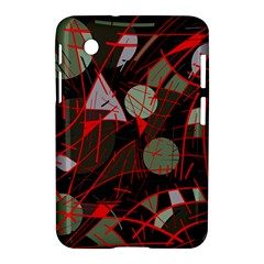 Artistic Abstraction Samsung Galaxy Tab 2 (7 ) P3100 Hardshell Case  by Valentinaart