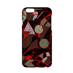 Artistic Abstraction Apple Iphone 6/6s Hardshell Case by Valentinaart