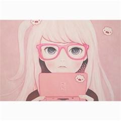 Gamegirl Girl Collage Prints