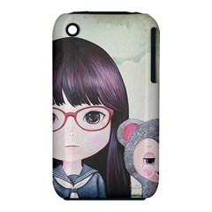 Close Encounter 4 Apple Iphone 3g/3gs Hardshell Case (pc+silicone) by kaoruhasegawa