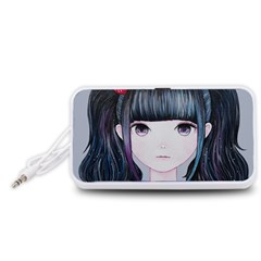 Nakayoshi Strawberry Portable Speaker (White)  by kaoruhasegawa