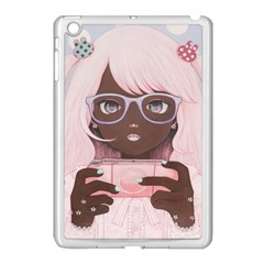 Gamergirl 3 Apple Ipad Mini Case (white) by kaoruhasegawa