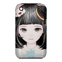 Maybe March<3 Apple iPhone 3G/3GS Hardshell Case (PC+Silicone) by kaoruhasegawa