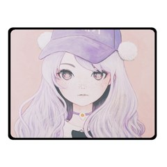 Ricehime Double Sided Fleece Blanket (small)