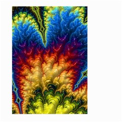Amazing Special Fractal 25a Large Garden Flag (two Sides)