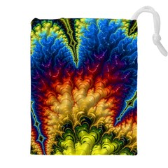 Amazing Special Fractal 25a Drawstring Pouches (xxl)